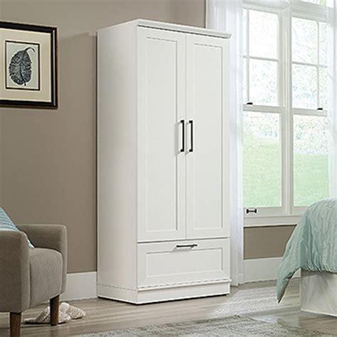 White Armoires Wardrobe - soft white wardrobe storage cabinet 423973 the home depot