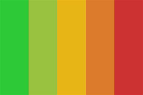 colors of light traffic light color palette