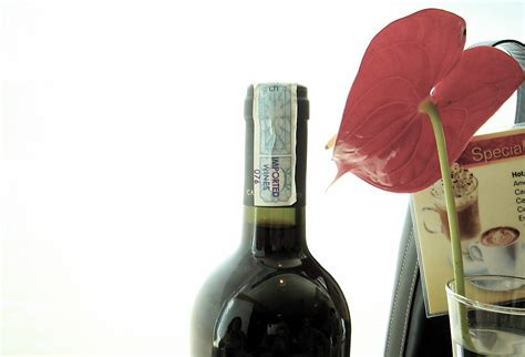 turn wine bottles into vases flower pressflower press