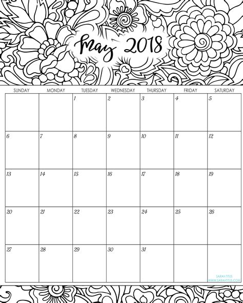 blank printable monthly calendar 2018 tradinghub co
