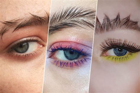 current eyebrow style are feather brows actually a trend