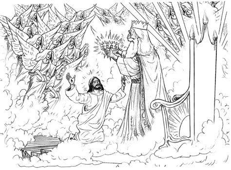 coloring pages jesus going to heaven free coloring pages of heaven for