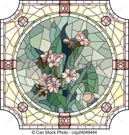 fiori mosaico vettore eps di nontiscordardime fiore mosaico vettore