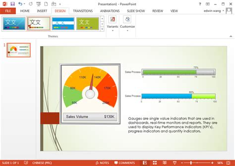 Gauge Chart Templates For Powerpoint Ready Powerpoint Presentations Free
