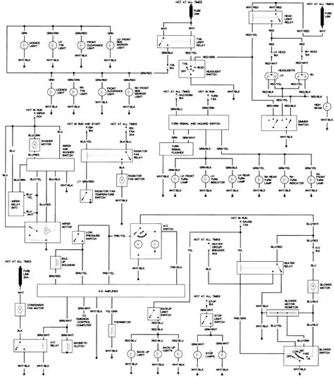 hj75 alternator wiring diagram image collections diagram