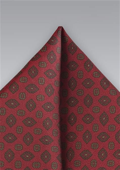 Handmade Pocket Square - handmade burgundy pocket square by cantucci bows n ties