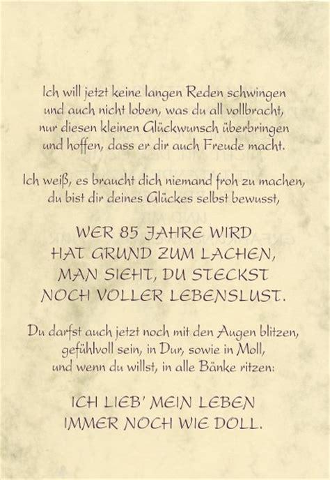 Home Design 40 50 Gru 223 Karte Urkunde Zum 85 Geburtstag Herzliche