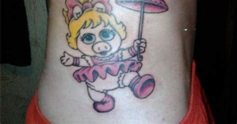 miss piggy tattoo designs miss piggy muppet babies tatuajes