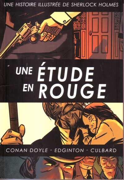 T 233 L 233 Charger Une 233 Tude En Rouge Sherlock Holmes Illustr 233