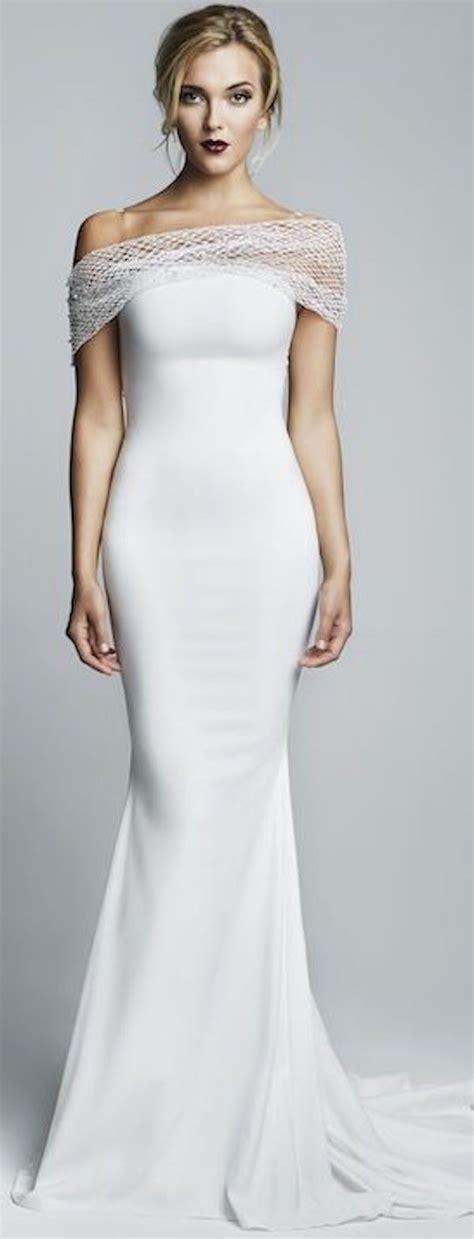 Gamis Simply Look Preppynavia 21 1000 ideas about sheath wedding dresses on bridal dresses sleek wedding dress and