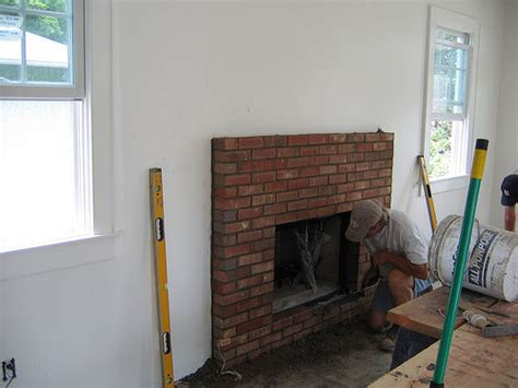 How To Fix A Fireplace Surround by How To Build A Fireplace Surround Diy And Repair Guides