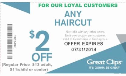 haircut coupons phoenix great clips any haircut coupon trendy hairstyles in the usa