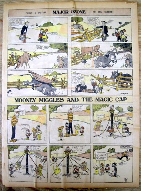 Newspaper Comic Section by 8 1908 Sunday Newspaper Color Comics Sections W Brer