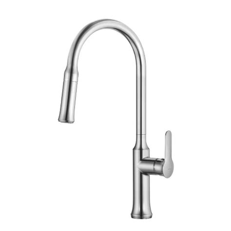 kraus kitchen faucet reviews kraus nola single lever pull kitchen faucet chrome finish the home depot canada