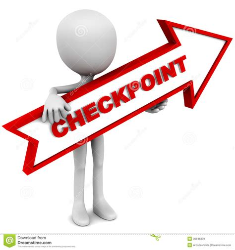 Point Background Check Checkpoint Arrow Royalty Free Stock Images Image 30846379