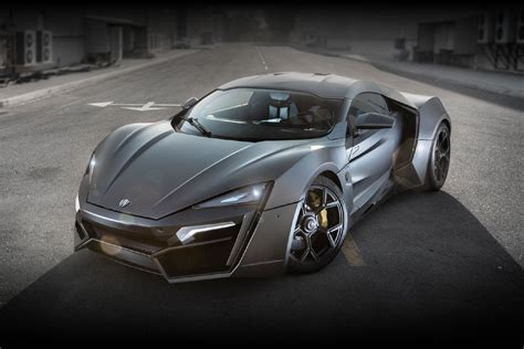 Lykan Hypersport Technical Specification Details And Price