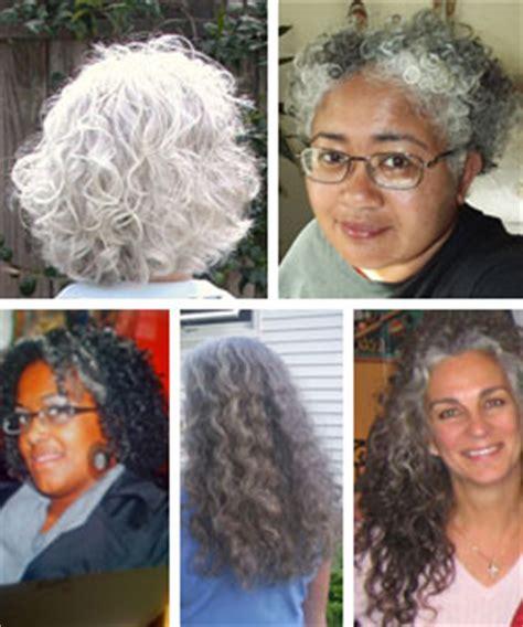 Types Of Grey Hair by Do Gray Curls Their Own Hair Type