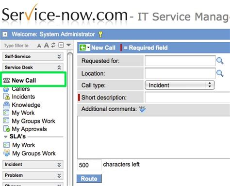 Servicenow Help Desk by New Call Call Taking Application Servicenow Guru