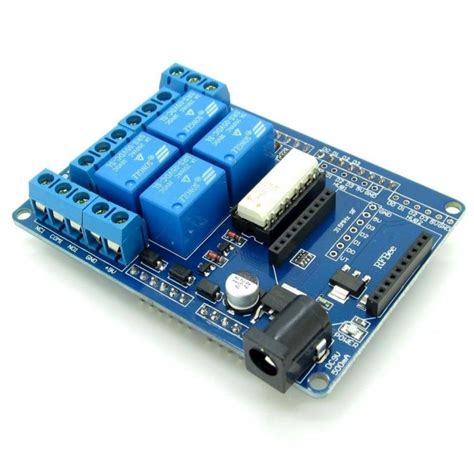 4 channel relay and xbee shield for arduino