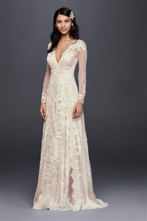 Affordable Wedding Dresses With Sleeves by Ultra All Lace Sleeve Wedding Dress