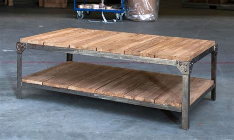 table fer forge plateau bois table basse fer et bois table basse blanc et noir