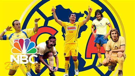imagenes nuevas del america el 11 ideal hist 243 rico del club am 233 rica nbc deportes
