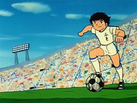 film cartoon football 80s anime gif find share on giphy