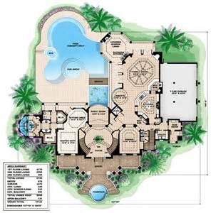 Oak Alley Floor Plan Plan W66231we Southern Influenced Plantation Estate E