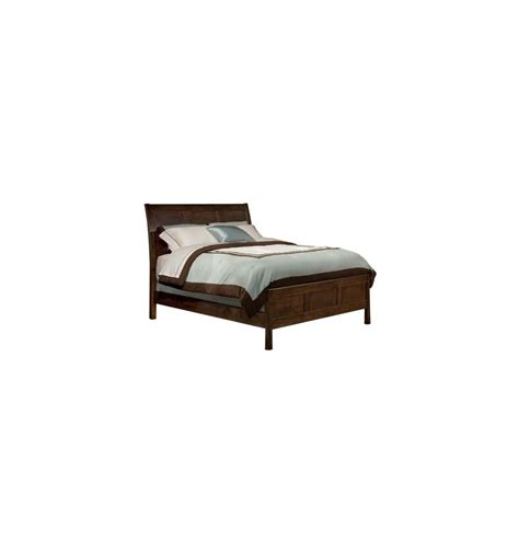 Flat Bed Mattress by Alder Flat Panel Sleigh Beds Simply Woods Furniture