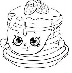 Coloriage Pancake Shopkins 224 Imprimer Sur Coloriages Info