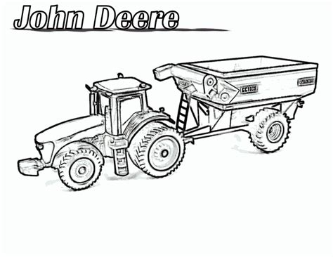 Coloring Page Tractor by Free Printable Tractor Coloring Pages For