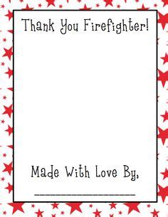 firefighter writing paper grade onederful ppbf my is a firefighter and lots of