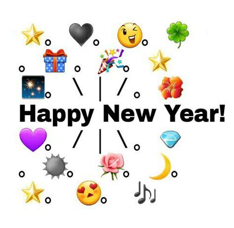 happy new year 2015 emoji happy new year by valeriaandrade whi