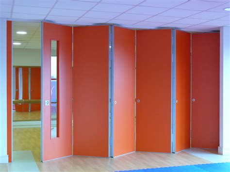Accordian Blinds operable walls folding partitions spacelink
