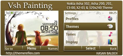 trees belle theme for nokia c3 00 asha 200 x2 01 wb7themes vsh painting theme for nokia asha 302 c3 00 x2 01 320
