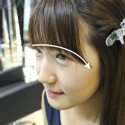 see through bangs style of korea by dusol beauty diy korean trendy see