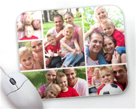 Photo Collage Mouse Mat by Personalized Mousepad