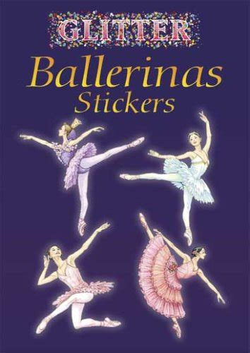 glitter narwhals stickers dover activity books stickers books glitter ballerinas stickers dover activity books