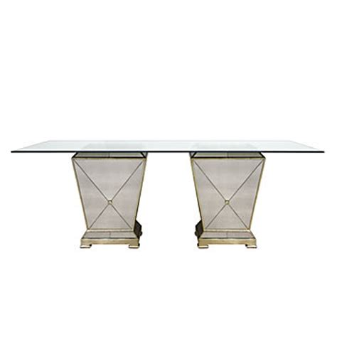 z gallerie borghese dining table borghese rectangular dining table borghese