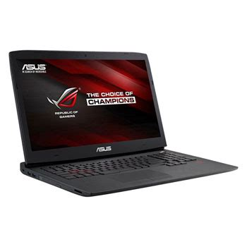 Asus Gaming Laptop Rog G751 asus rog g751 gaming laptop nvidia gtx 970m ln61404 g751jt t7019h scan uk