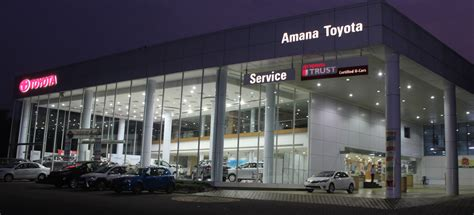 toyota showroom locator amana toyota toyota dealer used cars