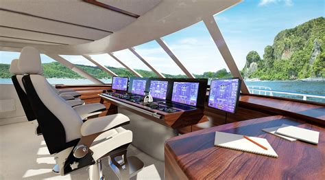 Yacht Visualization ? Marine render and animation services Proffesional artist impressions and