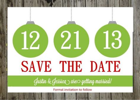 Save The Date Christmas Party Templates Invitation Template Best Save The Date Templates