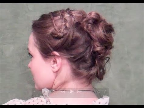 Pride And Prejudice Hairstyles by Pride And Prejudice Inspired Updo