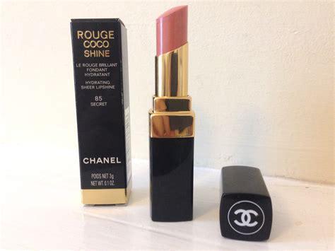 Channel Secret Lipstick baiw fashion lifestyle my chanel lipstick coco shine 85 secret