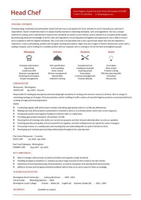 chef resume sles free sous chef resume template 28 images sous chef resume