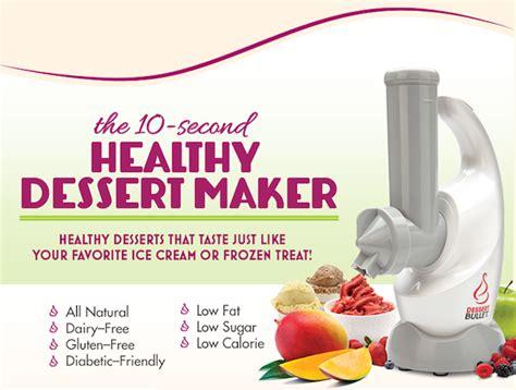 Magic Dessert Bullet The 10 Second Healthy Dessert Maker
