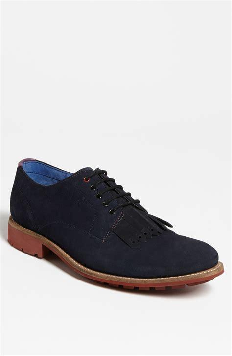 ted baker tich 2 buck shoe in blue for blue