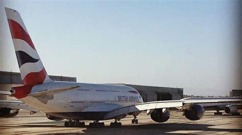 review british airways  economy class daytime flight lhr lax