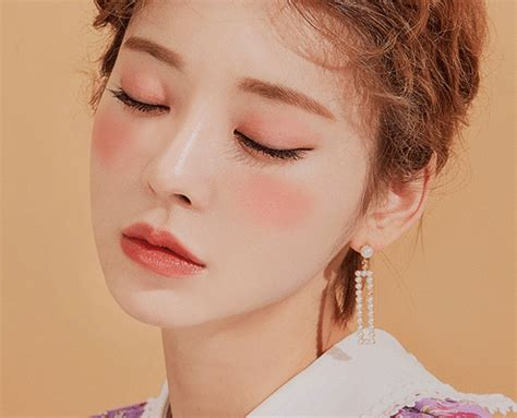 Lip Cheek Blusher Pink 츄 chuu beige blusher 303 hold on pink cheek